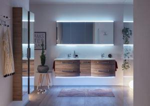 La lumière intelligente & les meubles de bain connectés