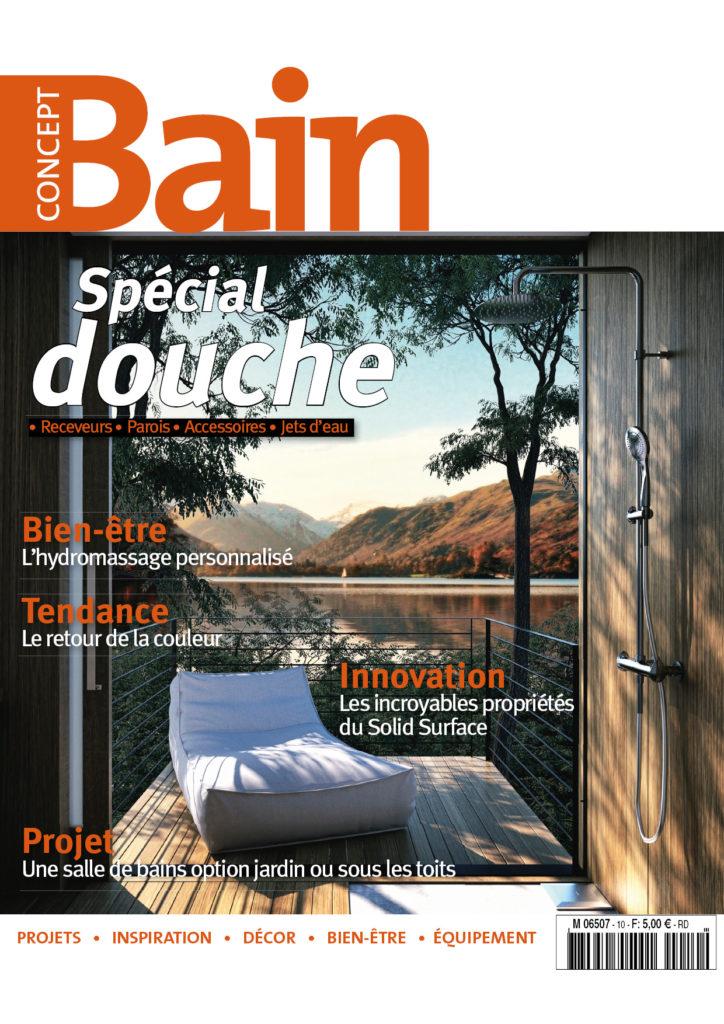 Azurlign dans le magazine Concept Bain n°10 Printemps-été 2017 !