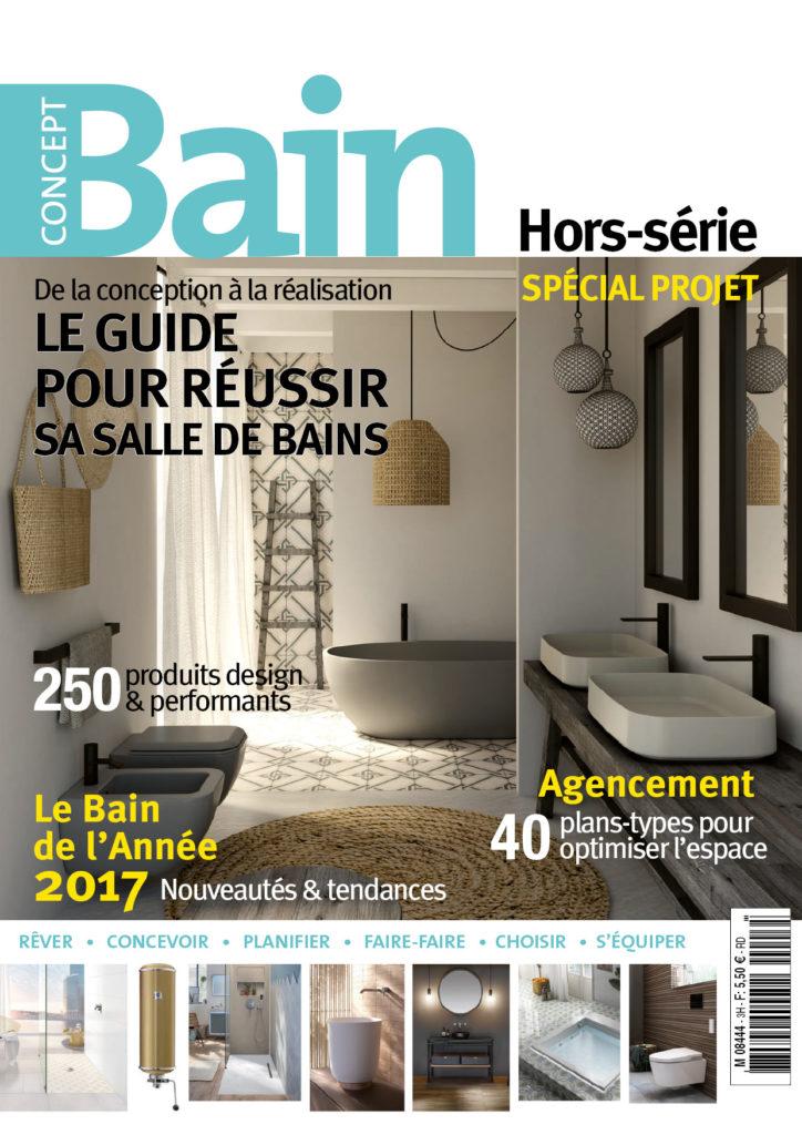 Allego dans le magazine Concept Bain Hors-série Juillet Août Septembre 2017