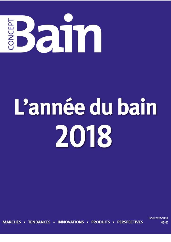 Azurlign apparaît dans le numéro spécial l'Année du Bain 2018 du magazine Concept Bain