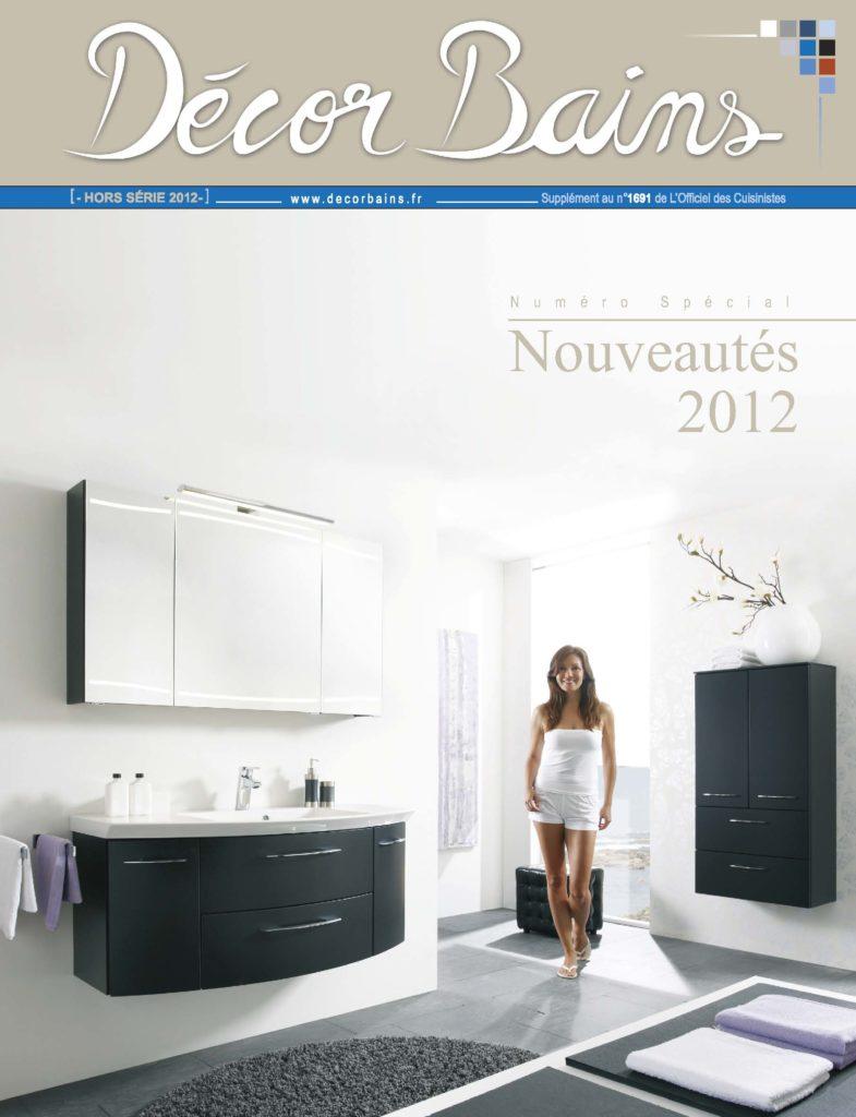 Décor Bains. Numéro spécial. Nouveautés 2012