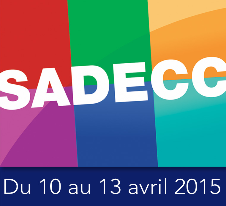 J-30 : Retrouvez-nous sur le Salon SADECC 2015 !