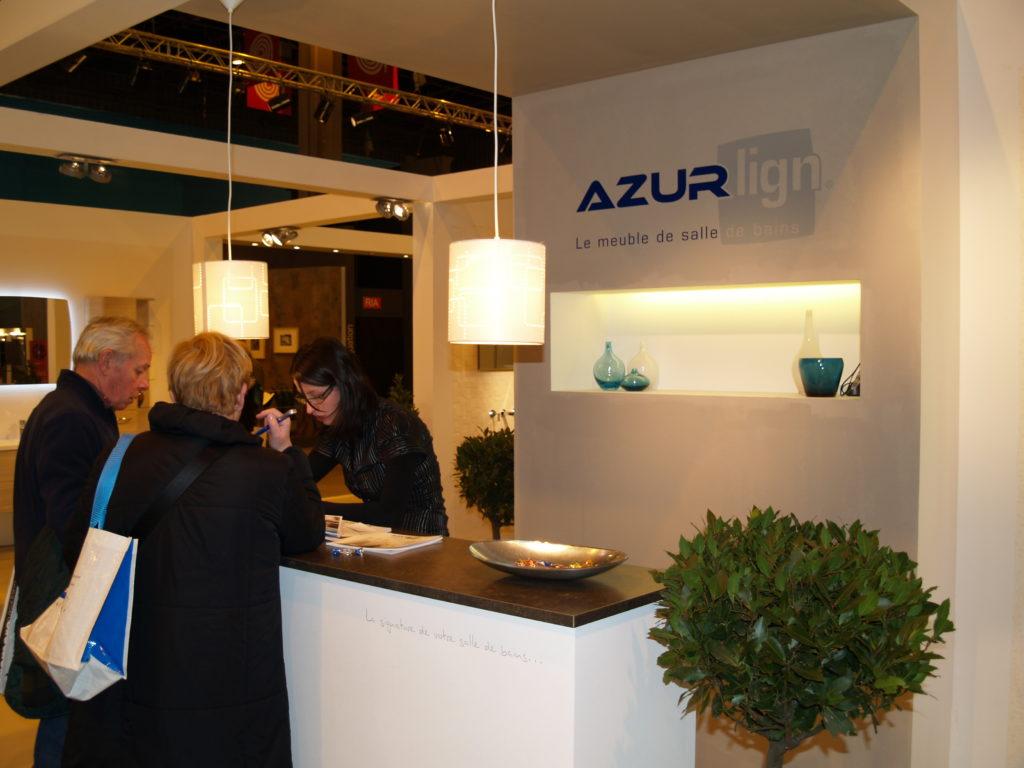 AzurLign au salon Idéo bain à Paris … La signature de la salle de bains se révèle …!